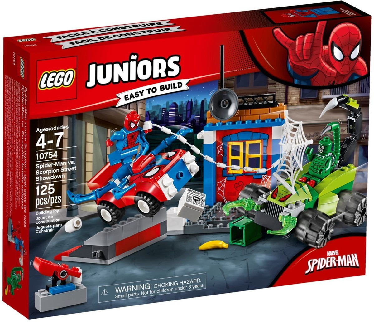 10754 JUNIORS Spider-Man kontra Skorpion