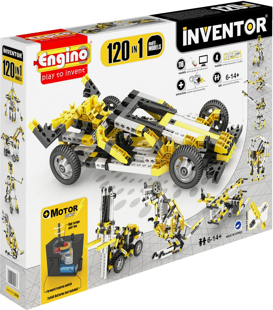 12030 INVENTOR 120 MODELS MOTORIZED SET