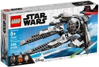 75242 STAR WARS TIE™ Interceptor Czarny As