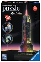 RAP125661 EMPIRE STATE BUILDING NOCĄ 3D 216EL