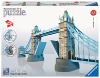 RAP125593 TOWER BRIDGE PUZZLE 3D 216 EL.