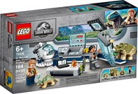 75939 Jurassic World Laboratorium doktora Wu
