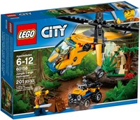 60158 CITY Helikopter transportowy